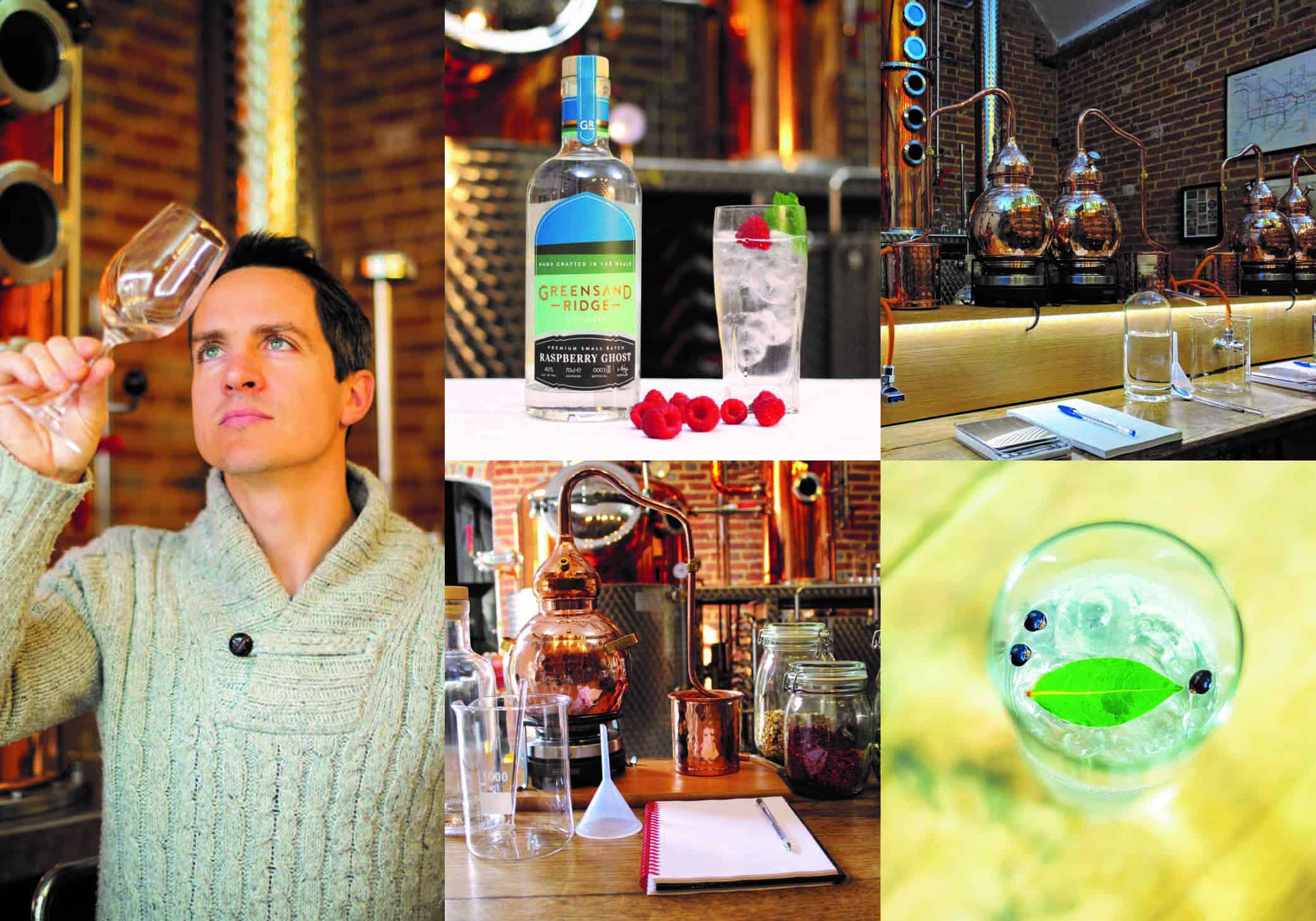 Greensand Ridge gin cocktails and distillery