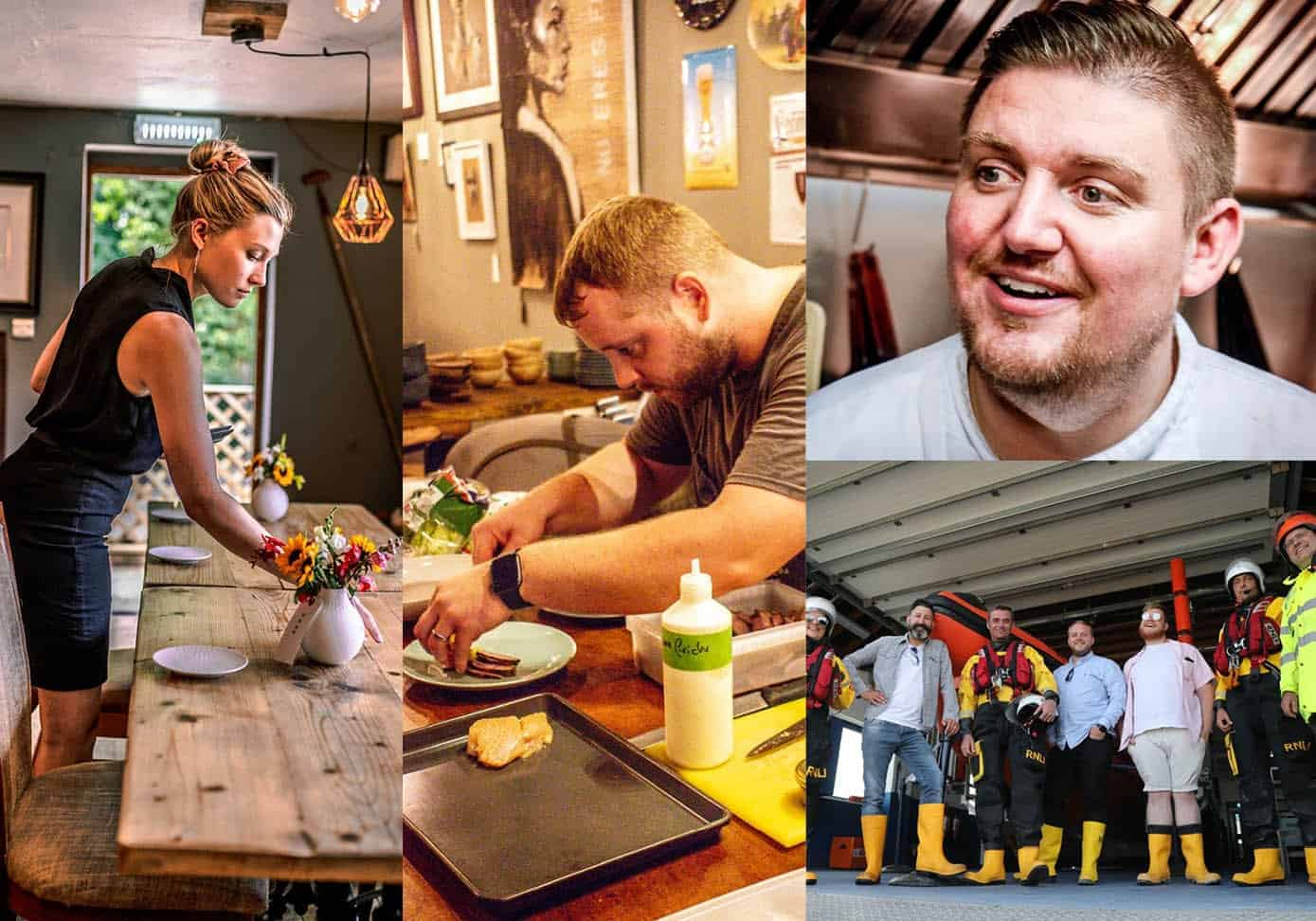 The Small Holding's Sophie Jackson; Will Devlin at Fuggles Beer Cafe; The Compasses' Rob Taylor; RNLI Fish Supper